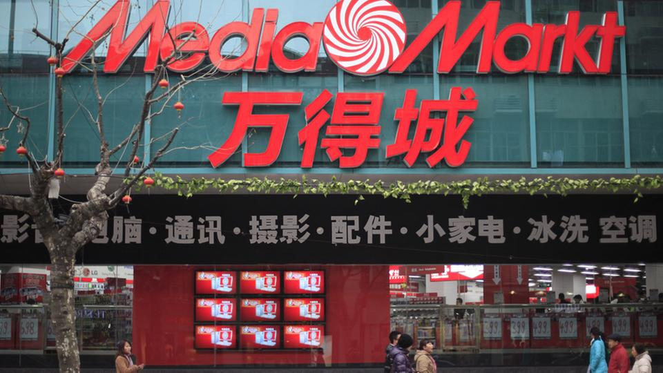 Media Markt in Schanghai