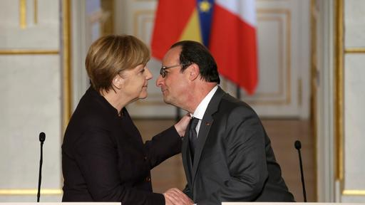 Merkel und Hollande am 25. November 2015 in Paris