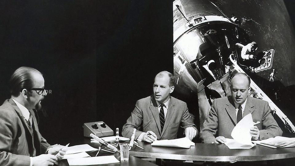 ARD-Studio zur Apollo-11-Mission