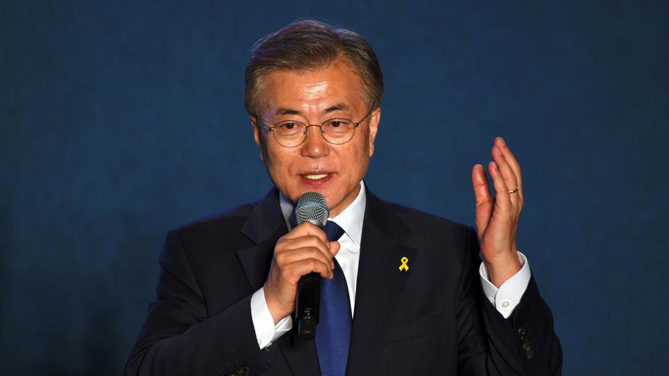 Moon Jae In.