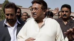 Pervez Musharraf am 15. April in Islamabad  | Bildquelle: AP