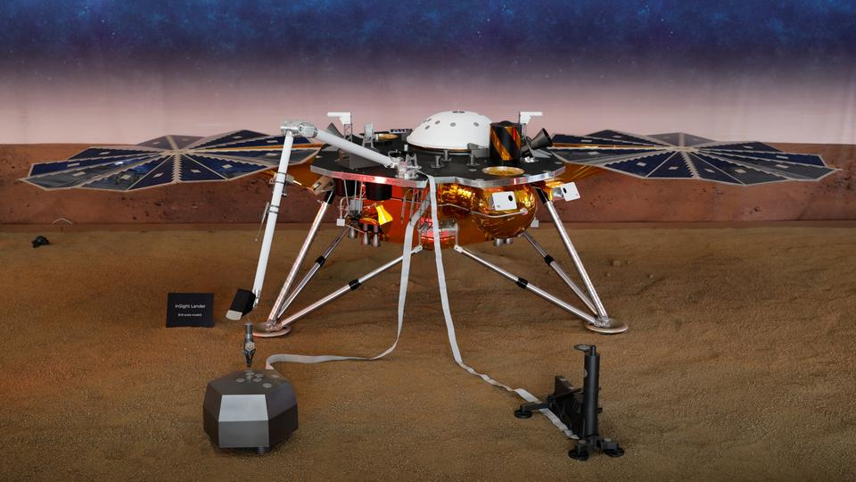 "Der NASA-Roboter ""InSight"" 