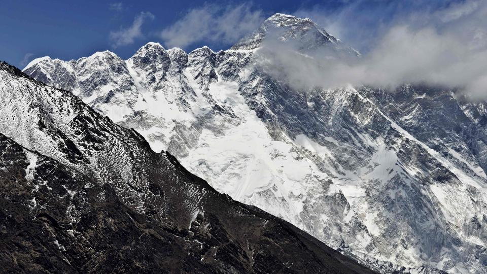 Der Mount Everest in Nepal. | Bildquelle: AFP