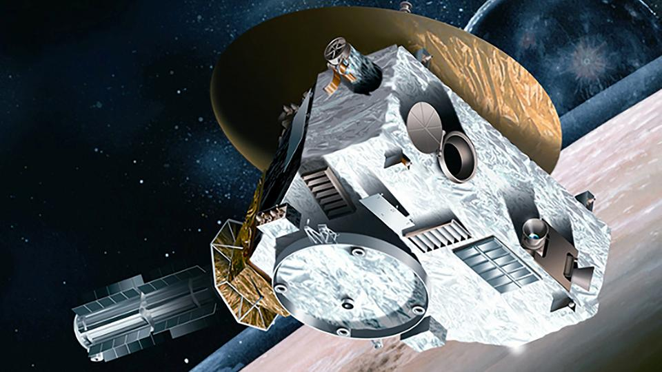 "NASA-Raumsonde ""New Horizons"" (Simulation) 