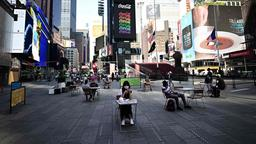 Times Square in New York | Bildquelle: AFP