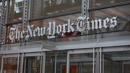 "Gebäude der ""New York Times"" in New York 
