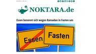 Screenshot der Satire-Website Noktara.de
