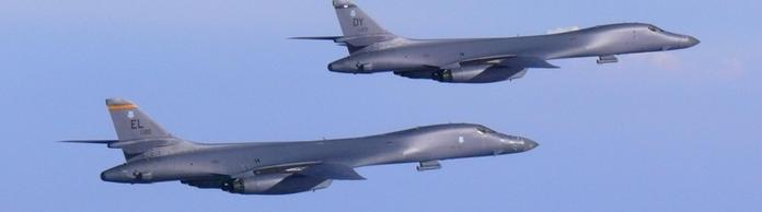 Bomber der US-Air-Force Typ B-1B | Bildquelle: REUTERS
