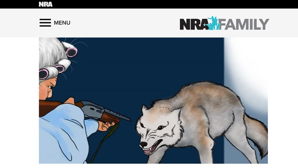Screenshot www.nrafamily.org