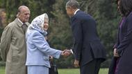 Obama bei der Queen