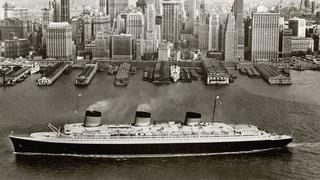 "Ausstellung ""Ocean Liners: Speed and Style"" in London"
