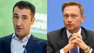 Collage Cem Özdemir und Christian Lindner