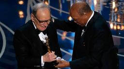 Ennio Morricone und Quincy Jones