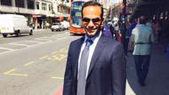 George Papadopoulos in London