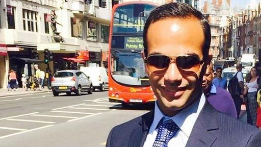 George Papadopoulos in London | AFP