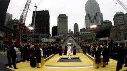 Papst in Ground Zero