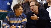 Paul Allen (r.) und Bill Gates (Archivbild vom 11.03.2003)