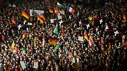 """Pegida""-Demonstration in Dresden 