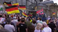 Pegida-Demonstration in Dresden am 1. Juli 2019