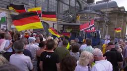 Pegida-Demonstration in Dresden am 1. Juli 2019 | Bildquelle: ARD/Kontraste/RBB