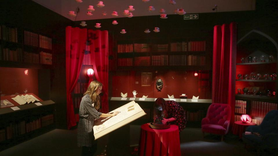 Ausstellung Harry Potter - A History of Magic | Bildquelle: AP