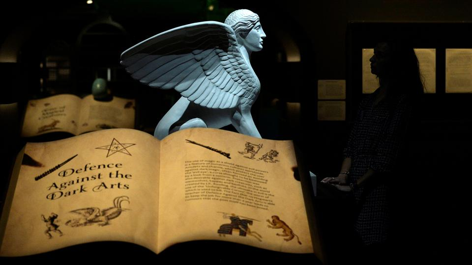 Ausstellung Harry Potter: A History of Magic | Bildquelle: REUTERS
