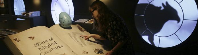 Ausstellung Harry Potter: A History of Magic  | Bildquelle: AP