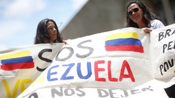 Venezuela in Not. | Bildquelle: REUTERS