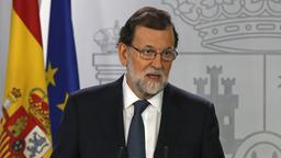 Spaniens Ministerpräsident Rajoy in Madrid