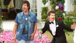 Adam Sandler (l.) und Andy Samberg in