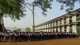 Ebola: Schüler in Freetown