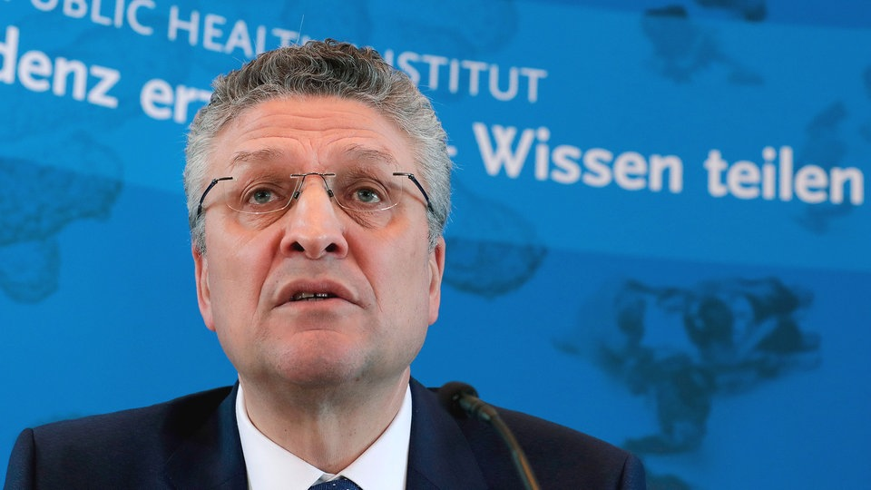 Der Chef des Robert Koch-Instituts: Lothar H. Wieler | AFP