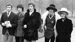 50 Jahre Rolling Stones: Charlie Watts Bill Wyman Mick Jagger Keith Richard and Brian Jones im Jahr 1967
