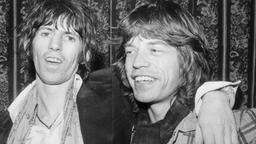 50 Jahre Rolling Stones: Jagger Richards in den 70er