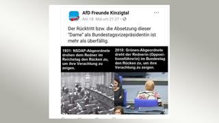 screenshot tweet: AfD Freunde Kinzigtal | Bildquelle: screenshot twitter