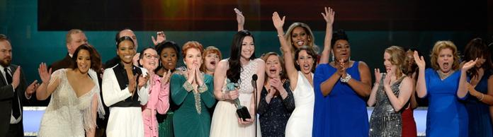 "Die Darsteller von ""'Orange Is the New Black"" bei den Screen Actors Guild Awards 