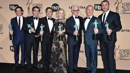 "Die Darsteller des Films ""Spotlight"" bei den Screen Actors Guild Award 