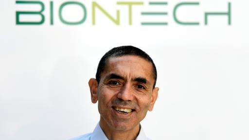 Biontech-Chef Sahin. | REUTERS