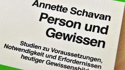 """Person and conscience"": The thesis of Annette Schavan (Photo: AP)"