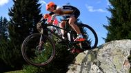 Mountainbiker in Lenzerheide