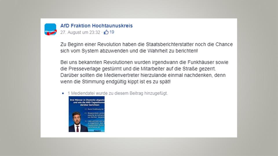 Screenshot: AfD Fraktion