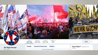 Screenshot Website Alt-Right Europe