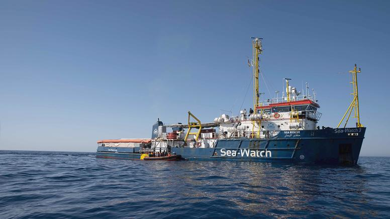 "Das Rettungsschiff ""Sea-Watch 3""  