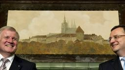 Seehofer in Prag