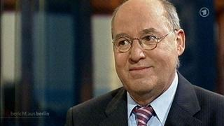 Linken-Chef Gregor Gysi