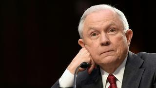 US-Justizsenator Jeff Sessions | Bildquelle: AFP