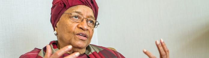 Ellen Johnson Sirleaf | Bildquelle: REUTERS
