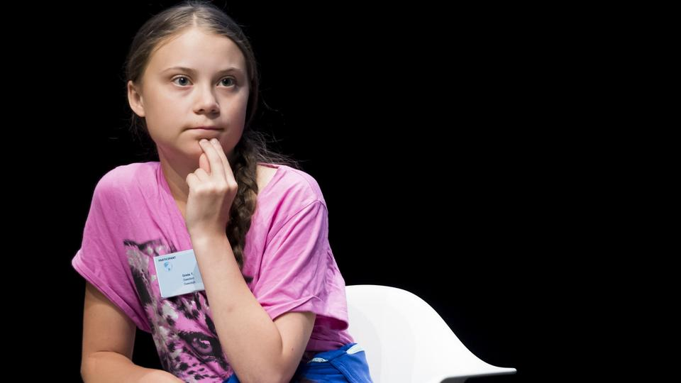 "Greta Thunberg auf dem ""Smile for Future""-Kongresses in Lausanne 