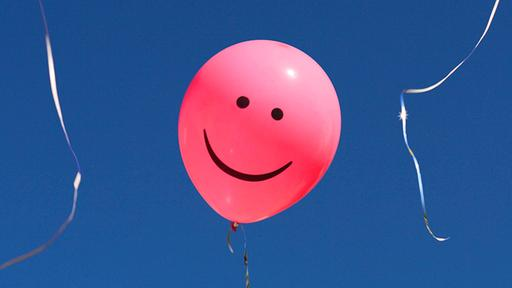 Smiley-Ballon | picture alliance / blickwinkel/P