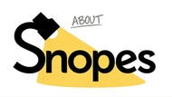 about snopes logo